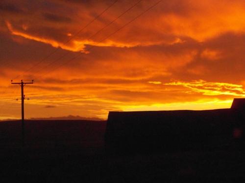 Sunrise at Forss
